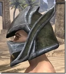 Dark Elf Orichalc Helm - Male Side
