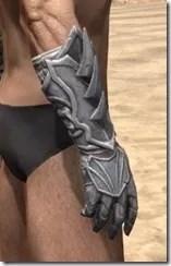 Ebonshadow Iron Gauntlets - Male Right