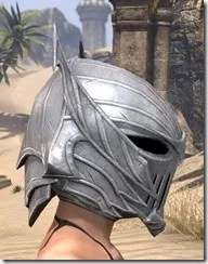 Ebonshadow Iron Helm - Female Right