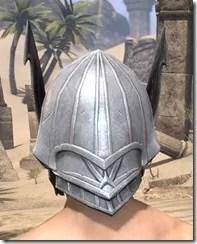 Ebonshadow Iron Helm - Male Rear