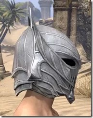 Ebonshadow Iron Helm - Male Right