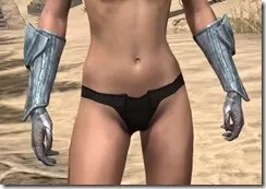 Glass Iron Gauntlets - Female Front