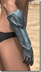 Glass Iron Gauntlets - Female Right