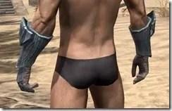 Glass Iron Gauntlets - Male Rear