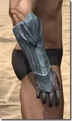 Glass Iron Gauntlets - Male Right