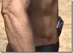 Glass Iron Girdle - Male Rear