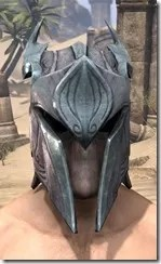 Glass Iron Helm - Male Front