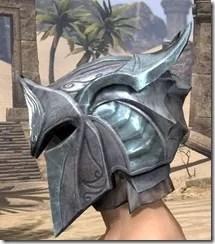 Glass Iron Helm - Male Side