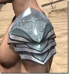 Glass Iron Pauldron - Male Side