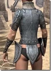 High Elf Iron Cuirass - Female Rear