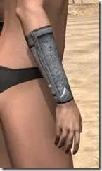 High Elf Iron Gauntlets - Female Right