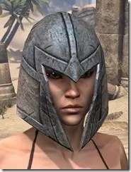 High Elf Iron Helm - Female Front