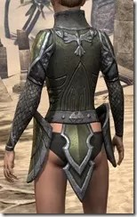 High Elf Orichalc Cuirass - Female Rear