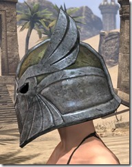 High Elf Orichalc Helm - Female Side