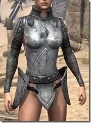 High Elf Steel Cuirass - Female Front