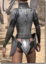 High Elf Steel Cuirass - Female Rear