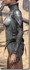 High Elf Steel Cuirass - Female Side