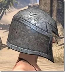 High Elf Steel Helm - Female Right