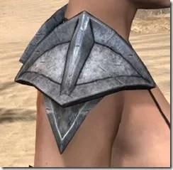 High Elf Steel Pauldrons - Female Right