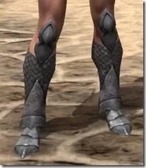 High Elf Steel Sabatons - Female Front