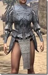 Hlaalu Iron Cuirass - Female Front
