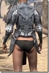 Hlaalu Iron Cuirass - Female Rear