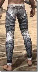 Hlaalu Iron Greaves - Male Rear