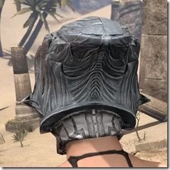 Hlaalu Iron Helm - Female Rear