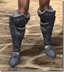 Hlaalu Iron Sabatons - Female Front