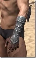 Imperial Steel Gauntlets - Male Side