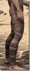 Imperial Steel Greaves - Male Right