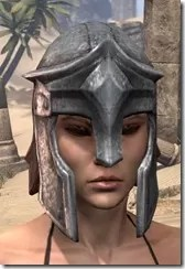 Imperial Steel Helm - Female Front