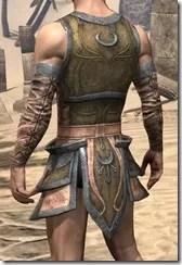 Khajiit Dwarven Cuirass - Male Rear