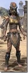 Khajiit Dwarven - Female Front