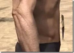 Khajiit Dwarven Girdle - Male Rear