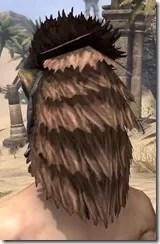 Khajiit Dwarven Helm - Male Rear