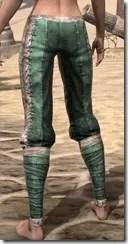 Khajiit Homespun Breeches - Female Rear