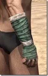 Khajiit Homespun Gloves - Male Right