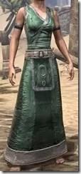 Khajiit Homespun Robe 1 - Female Front