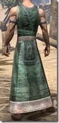 Khajiit Homespun Robe 1 - Male Rear