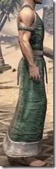 Khajiit Homespun Robe 1 - Male Right