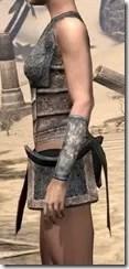 Khajiit Iron Cuirass - Female Side