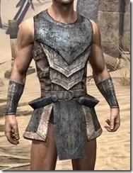 Khajiit Iron Cuirass - Male Front