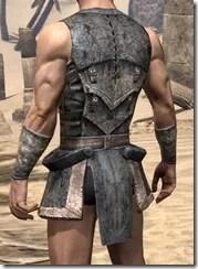 Khajiit Iron Cuirass - Male Rear