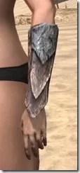 Khajiit Iron Gauntlets - Female Side