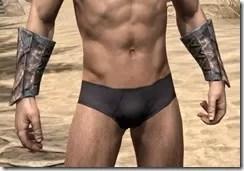 Khajiit Iron Gauntlets - Male Front