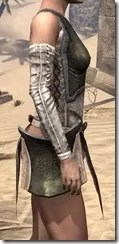 Khajiit Orichalc Cuirass - Female Right