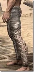 Khajiit Orichalc Greaves - Male Side