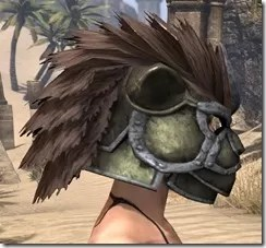 Khajiit Orichalc Helm - Female Right
