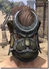 Khajiit Orichalc Helm - Male Front